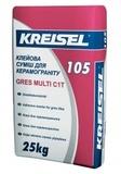 Клей для плитки керамогранит Kreisel  105